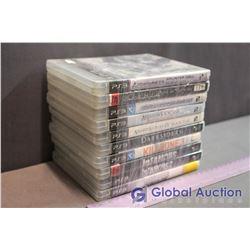 Lot Of PS3 Games (10) (Splinter Cell, Genji, Sports Championships, Assasins Creed Brotherhood And Bl