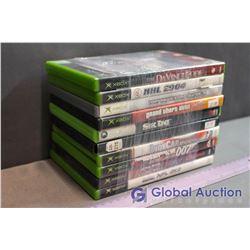 Lot Of Xbox Games (10) (Davinchi Code, NHL, Tony Haw, GTA Vice City, Sneak King, Indy Car, 007, Clon