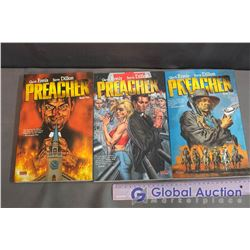 Lot Of Preacher Graphic Novels (3) (Book One, Two, And Three)