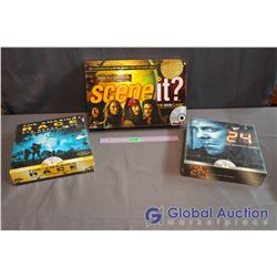 Lot of Board Games - Scene It, 24, The Amazing Race (24 & Amazing Race Games Unopened)