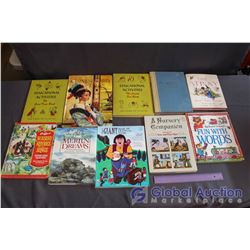 Lot of 10 Childrens Story & Music Books - Some Vintage