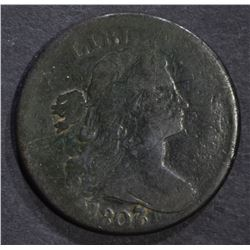 1807/6 LARGE CENT, VG