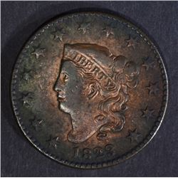 1823/2 LARGE CENT, VF/XF KEY DATE