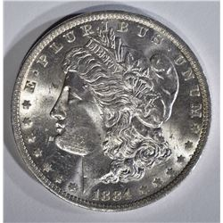 1884-O MORGAN DOLLAR, GEM BU