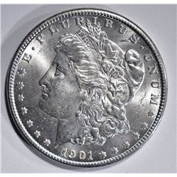 1901-O MORGAN DOLLAR, GEM BU