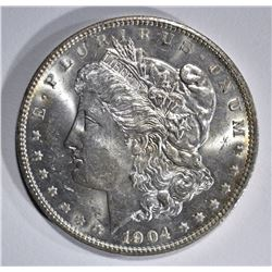 1904-O MORGAN DOLLAR, GEM BU