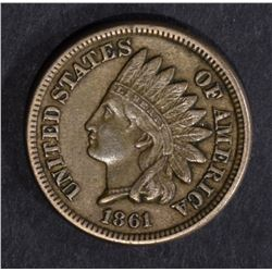 1861 INDIAN CENT XF