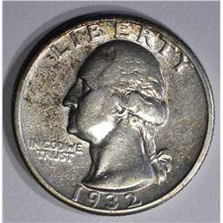 1932-D WASHINGTON QUARTER  AU