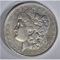 1901 MORGAN DOLLAR XF/AU