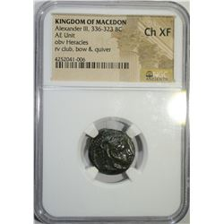 336-323 BC ALEXANDER III, KINGDOM OF MACEDON