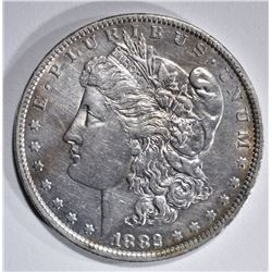 1882-O/S MORGAN DOLLAR, AU/BU