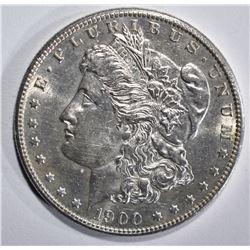 1900-S MORGAN DOLLAR, CH BU