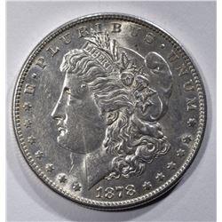 1878-S MORGAN DOLLAR, CH BU