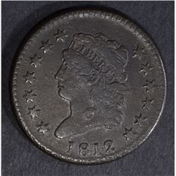 1812 LARGE CENT VF