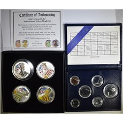 "2000 ""FOUR SEASON"" COLORED EAGLE SET"