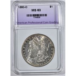 1880-O MORGAN DOLLAR APCG CHBU