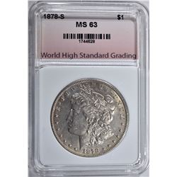 1878-S MORGAN DOLLAR WHSG CHBU