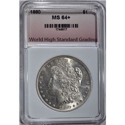 1880 MORGAN DOLLAR WHSG CH/GEM BU