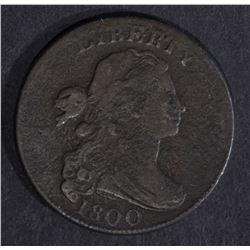 1800 LARGE CENT, FINE