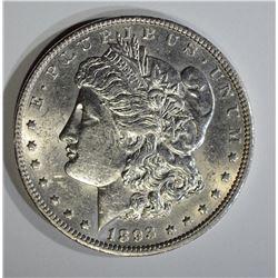 1893-O MORGAN DOLLAR  BU