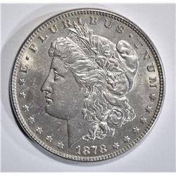 1878 7TF REV. 78 MORGAN DOLLAR AU/BU