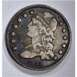 1835 BUST QUARTER FINE
