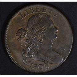 1807/6 LARGE CENT CH AU