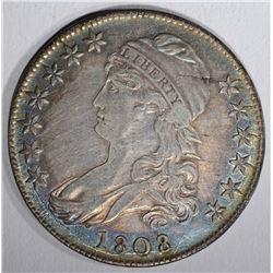 1808 CAPPED BUST HALF DOLLAR