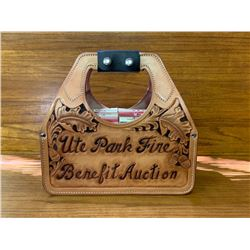 "Custom Made Shotgun Shell Box Carrier ""Philmont Scout Ranch & Ute Park Fire Benefit Auction"""