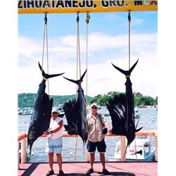 6 Day Deep Sea Fishing Trip in Zihuantanejo, Mexico with Lad Shunneson Adventures