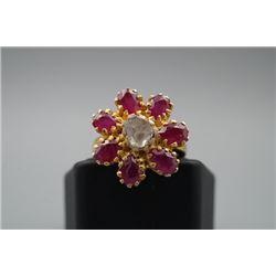 Ruby Inlay Ring