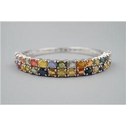Multi Gemstones Inlay Bracelet