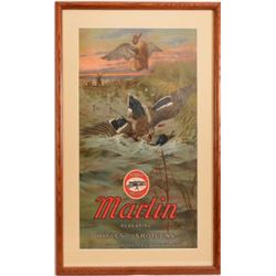 Marlin Repeating Rifles & Shotguns Duck Poster