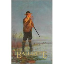 "1915 DuPont ""Shoot Ballistite"" Gun Powder Poster"