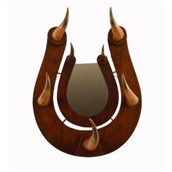 Horseshoe Horn Mirror