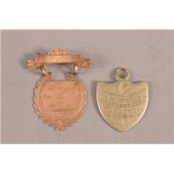 Flatonia TX. ID Tag & Flatonia TX Shooting Medal