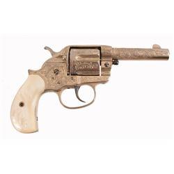 Engraved Colt Model 1878 DA Sheriff's Model