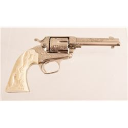 W. E. Lister Engraved Colt SAA Bisley