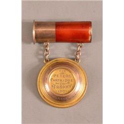 1901 Peters Cartridge Co. Trap Shooting Medal