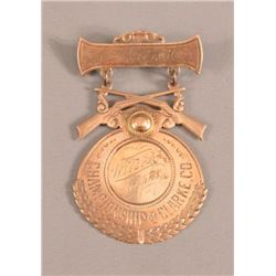 Clarke County Wilson Trophy Trap Shooting Medal