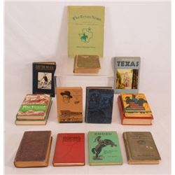 Collection Of 14 Books On Texas & The Southwest