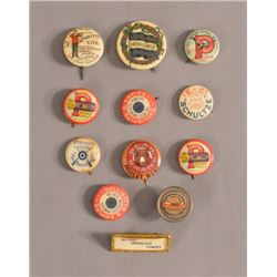 Collection Of  Sporting Pinback Buttons
