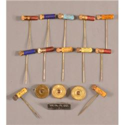 12 Winchester NuBlack  Ammunition Advertising Pins