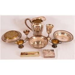 10 Sterling Silver Trap Shooting Trophies