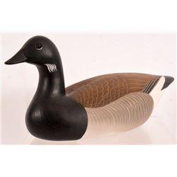 Charlie Joiner Carved Brandt Duck Decoy