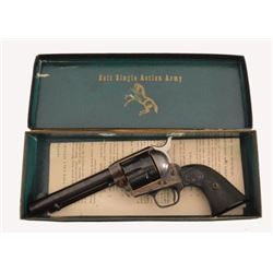 Colt Model 1873 Single Action Army .38 Mint in Box