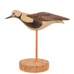 William Gibian Wood Carved Shorebird