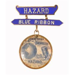 Hazard Powder Co. 1899 Trap Shooting Medal