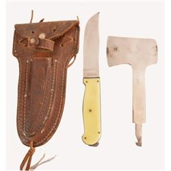 Edward Tryon Knife & Hatchet Camp Set