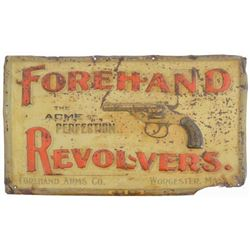 Forehand Revolvers Tin Sign